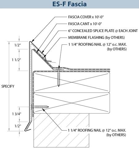 Metal Roof Fascia Details