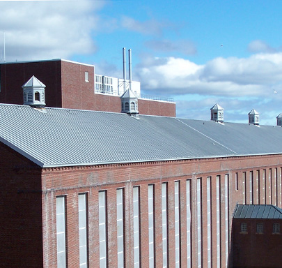 Zinc-Coated Copper Series 300 Metal Roof