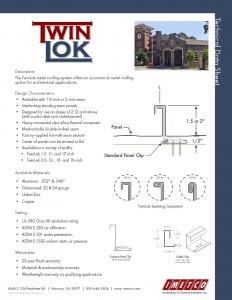 TwinLok Sales Sheet