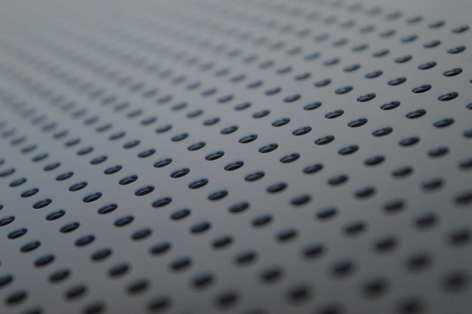 Perforated Corrugated Metal Panels Rug Designs